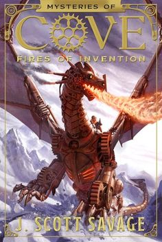 Fires of Invention by J. Scott Savage is intended for upper middle grade and lower YA readers. There is action, mystery, and a slight touch of romance. #reading #bookworm #youngadult #books | batchofbooks.com