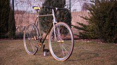 40 years old favorit (1971) fixed ;) fixed bike, single gear bike, city bike