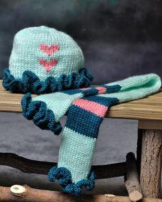 Tiny Dancer Winter Hat & Scarf - 2-5 yrs