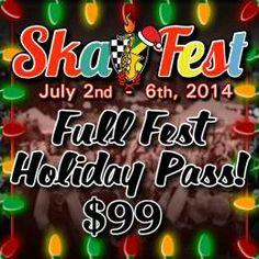 Victoria BC Ska Society & Ska Festival, July 2nd-6th, 2o14