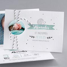 Geburtskarten - BN39-012