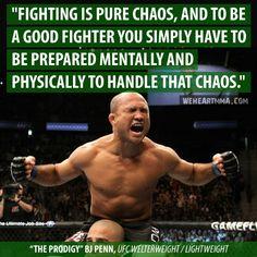 BJ Penn (Natural Jiu-Jitsu master)