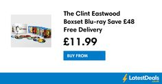 The Clint Eastwood Boxset Blu-ray Save Free Delivery, at Zavvi Mo Bros, Beard Grooming Kits, New Samsung, Great Father's Day Gifts, Kid Character, Ice Cream Maker, Clint Eastwood, Half Price, Asda