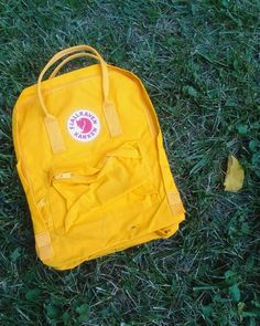 Stunning warm yellow. Kankenaholic · Fjallraven Kanken warm yellow 12adb2da68f9c