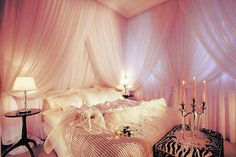 Heavy Drapery for glamourous bedroom