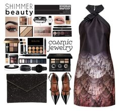 """Cosmic jewelry."" by tuankhoi3012 ❤ liked on Polyvore featuring Ted Baker, RED Valentino, CLUSE, ZENZii, Miss Selfridge, Bobbi Brown Cosmetics, Givenchy, Gucci, Rebecca Minkoff and Marc Jacobs"