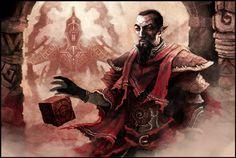 TES: Neloth of House Telvanni by coupleofkooks.deviantart.com on @deviantART // such a jerk but I still like him