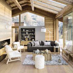 Un chalet familial sur 5 niveaux en Savoie | Idées Déco, Meubles et ...