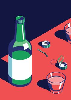 Fashion Illustration A Night Out in Seoul – Illustrations by Coen Pohl via onreact - A Night Out in Seoul, a beautiful illustration series created by Coen Pohl. Coen Pohl is a Dutch freelance illustrator and graphic designer who lives and Flat Illustration, Graphic Design Illustration, Digital Illustration, Graphic Art, Shadow Illustration, Korean Illustration, Pop Art, Pinterest Instagram, Poster Design