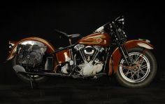 1937 Harley-Davidson Knuckelhead Right Side