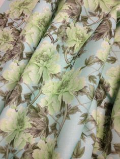 Quill Notes: Spring Came Early... | Shu Te's Chintz : Mint