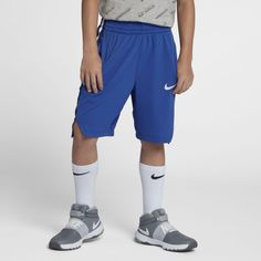 dbe260f1c7fdfb Nike Dri-FIT Elite Big Kids  (Boys ) Basketball Shorts Size M (Game Royal)