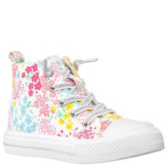 All Girls Shoes – Nina Shoes Elastic Shoe Laces, Lace Up Espadrilles, Nina Shoes, Girls Shoes, Converse Chuck Taylor, Memory Foam, Cotton Canvas, High Top Sneakers, Floral Prints