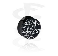 Black Flared Plug [Acrylic]
