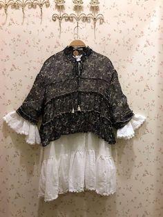 Cute lovely outfit by Mori Zakka  https://www.facebook.com/morizakka/