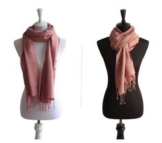 Baumwollschal Rosa   Traditionelle Handarbeit aus Thailand   Größe: ca. 180 x 50 cm   Material: 100% Baumwolle   Farbe: Rosa