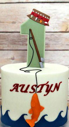 Fishing Themed Smash Cake