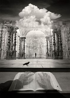 Dream Theater, 2004 Photo montage Jerry Uelsmann- one of the first popular photographers to do this in the darkroom