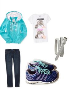 cute outfits for elementary school girls | Middle School And Elementary School Back To School Outfits