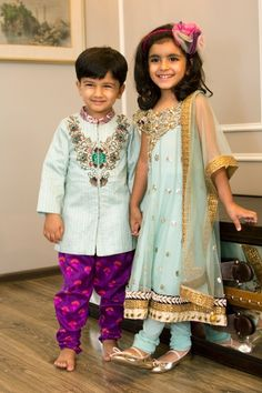 Indian Wedding Fashion for kids!! So cute!