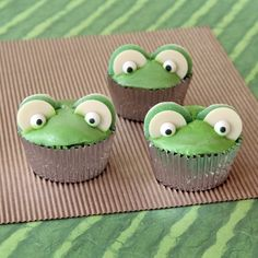 Fawn's Leapfrog Cupcakes