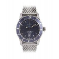 Breitling Super Ocean Heritage. A used watch that comes complete with box and papers, We also buy, sell and part exchange, pre owned and used prestige watches. http://www.globalwatchshop.co.uk/breitling-super-ocean-heritage.html