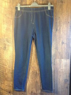 a4702dc5181 George Blue Jeggings Size 16  fashion  clothing  shoes  accessories   womensclothing  jeans (ebay link)