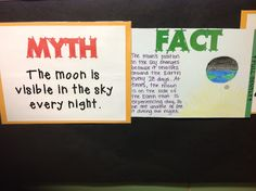"Mythbusters activity - students have to ""bust"" a scientific myth"