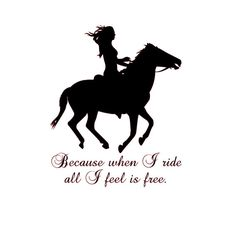 Horse wall decal Horse quote sticker Wall words by aluckyhorseshoe