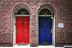 Red Door Blue Door