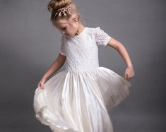 c9ef00ea5 27 best Bespoke Flower girl dresses images | Lovely dresses, Girls ...