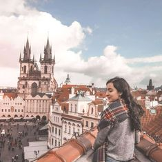 Prague's rooftop views from Terasa U Prince