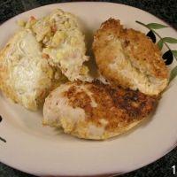 Crispy Buffalo Chicken Breasts Recipe