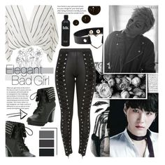 """""""Min Yoongi / Suga / Agust D..."""" by isabeldizova ❤ liked on Polyvore featuring GET LOST, Free People and Hot Topic"""