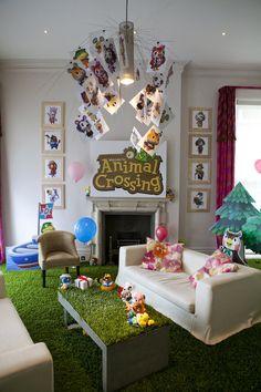 Animal Crossing Room.