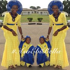 Boys african attire and the mother looks fab too