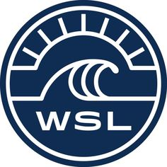 World Surf League WSL logo sticker for laptop, car, or anything else!  Vinyl die cut out 3 x 3 size sticker  Manufactured to be both weatherproof and scratch-resistant  You can stick them to any smooth surface, indoors or outside, and they will last for years to come