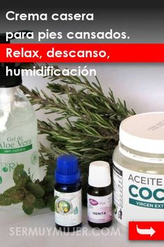 Crema casera para pies cansados. Relax, descanso, humidificación Tips Belleza, Convenience Store, Relax, Medicine, Tired Feet, Health And Wellness, Mental Health, Homemade Scrub, Crochet Tops