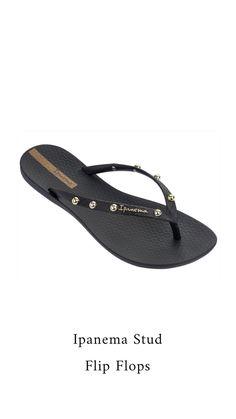 e5dcfb93def8cb Ipanema Stud Flip Flops  KennethCole  Mules  Shoes  Summer  womens  Heels   fashion  espadrilles  Ipanema  Sandals  Flats  flipflops  wedges   saltwater ...