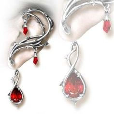 One of my favourite    Alchemy Gothic Thorns of Passion Earring, Ear Cuff