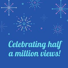 Our YouTube Channel has reached an exciting milestone going past half a million views!