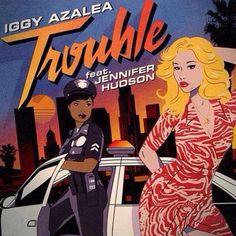 Trouble – Iggy Azalea Ft. Jennifer Hudson   New Single * http://voiceofsoul.it/trouble-iggy-azalea/
