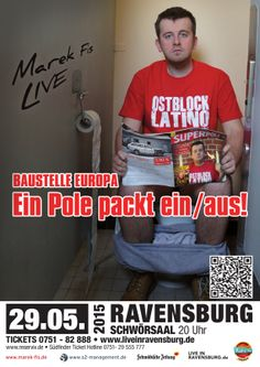 Marekfis Ostblocklatino Schwoersaal Ravensburg Live Oberschwabenhalle Comedy Bodensee