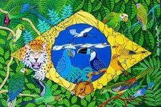 Bandeira do Brasil - Militao dos Santos - Pesquisa Google