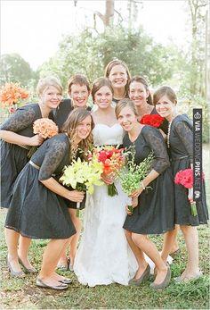 lace bridesmaid dresses   CHECK OUT MORE IDEAS AT WEDDINGPINS.NET   #bridesmaids