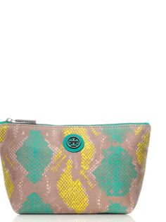 Pop Snake Small Slouchy Cosmetic Case | Womens Small Accessories