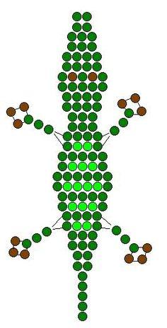 krokodyl z koralików - Szukaj w Google