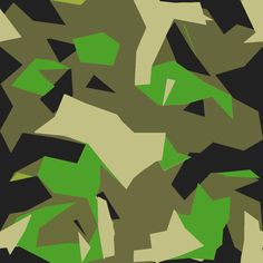Civilian recreation of the Swedish Armed Forces (Model of splinter pattern. Military Camouflage, Army Camo, Camouflage Patterns, Diy Art Projects, Modern Warfare, Pattern Wallpaper, Textures Patterns, Artwork, Prints