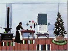 Horace Pippin - Christmas Morning Breakfast