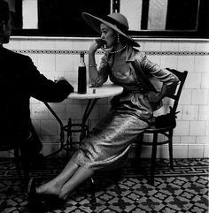tamburina: Irving Penn, Café in Lima, Peru, for Vogue, 1948